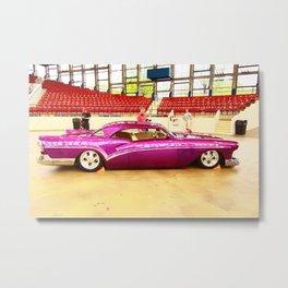 Sleek and Classy Vintage Car Metal Print