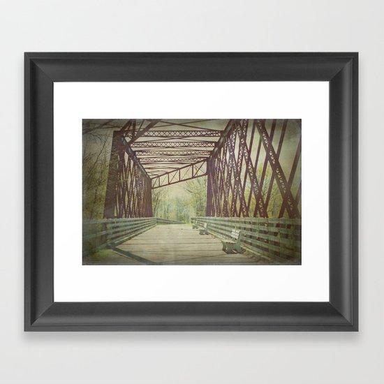 Come and Take a Walk with Me Framed Art Print