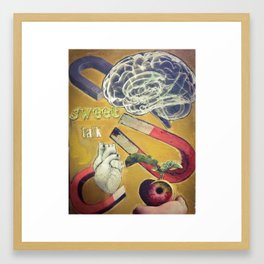 'Laws of Attraction' Framed Art Print