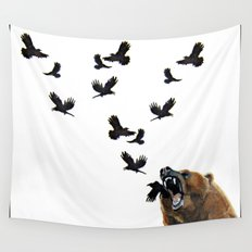Sacred Outrage Wall Tapestry