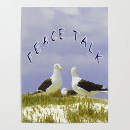 PEACE TALK Poster
