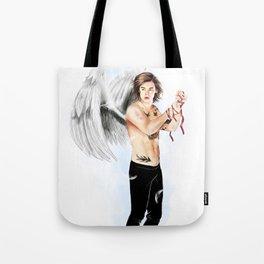 Angel with a shotgun  Tote Bag
