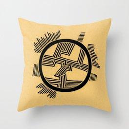 Dendrite Throw Pillow