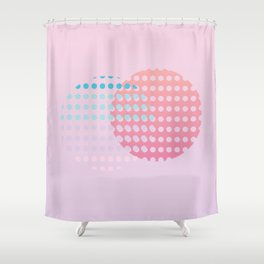 Holographic dream Shower Curtain