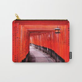 Through the Gates (Kyoto, Japan) Carry-All Pouch