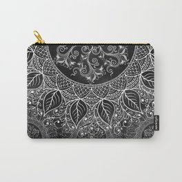 Mandaleaf - Black a lot Carry-All Pouch