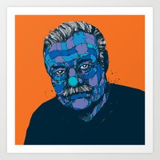 Ernest Hemingway 1899 - 1961 Art Print
