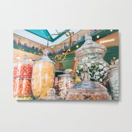 Sweets Shop Metal Print