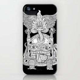 TOTEM - KNOCKOUT iPhone Case