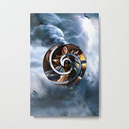 Narset the Airbender Metal Print