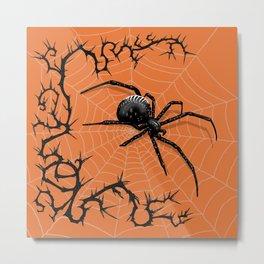 Briar Web- Halloween Metal Print