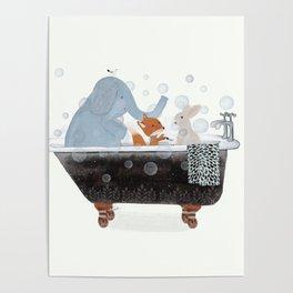 little bath time Poster