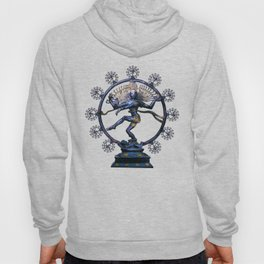 Shiva Nataraj, Lord of Dance (an actual factual fractal) Hoody