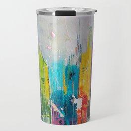 ABSTRACT CITYSCAPE 7 Travel Mug