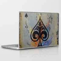 ace Laptop & iPad Skins featuring Ace by Michael Creese