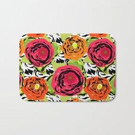 Abstract roses 1 Bath Mat