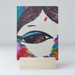 My eyes on you Mini Art Print