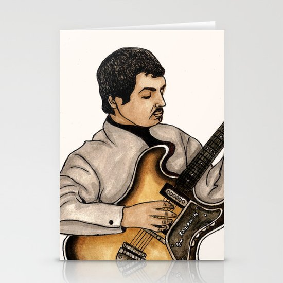 Lenny Breau Stationery Cards