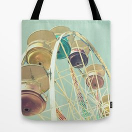 Pastel Ferris Wheel Tote Bag