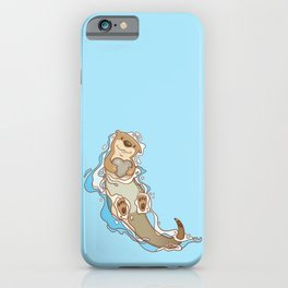 Will you be my otter half? iPhone Case