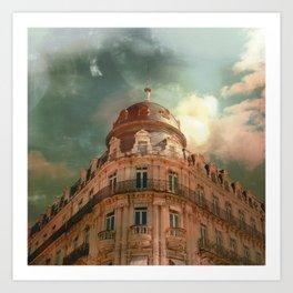 Montpellier  - France Art Print