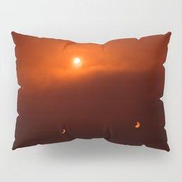 Solar Eclipse over Somerset, 2015 Pillow Sham