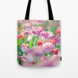Spring Tulips Redux - The Flower Collection Tote Bag