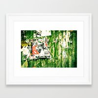 posters Framed Art Prints featuring posters 2 by Renee Ansell