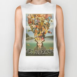 The Mind of Wes Anderson Biker Tank