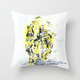Mirrorface Throw Pillow