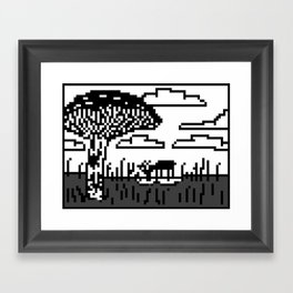 I Want To Be A Lion Framed Art Print