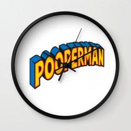 Pooperman Jeffy Wall Clock