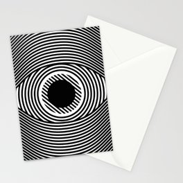 Moire Eye Stationery Cards
