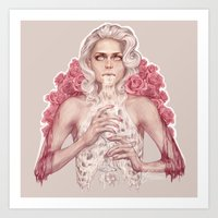 milk Art Prints featuring Milk by jasric