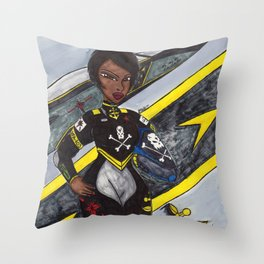 The Youngest Ace Throw Pillow