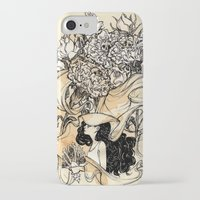 virgo iPhone & iPod Cases featuring Virgo by Anna Rosenfeld