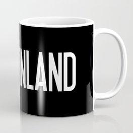 Finland: Finnish Flag & Finland Coffee Mug