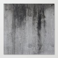 concrete Canvas Prints featuring Concrete by Shamgar