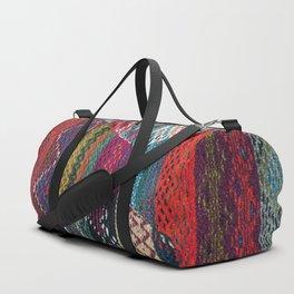 ARTERESTING V45 - Boho Traditional Moroccan Colored Design Duffle Bag
