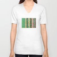 nyc V-neck T-shirts featuring NYC by Mariana Beldi