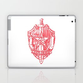 KGB Badge Outline Drawing Laptop & iPad Skin