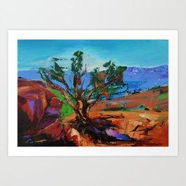 Among the Red Rocks - Sedona Art Print