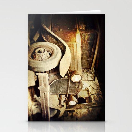 Vintage metal Stationery Cards