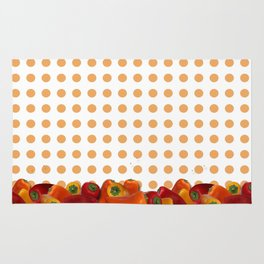 Peppers polka dot Rug