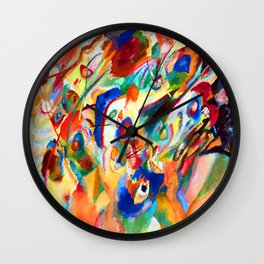 Wassily Kandinsky Composition VII B Wall Clock