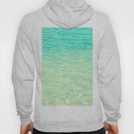 GREEN OMBRE OCEAN Hoody