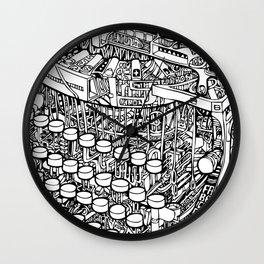 RETRYPE Wall Clock