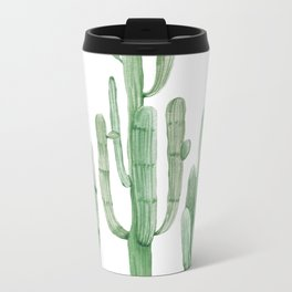 Three Amigos White + Green by Nature Magick Metal Travel Mug
