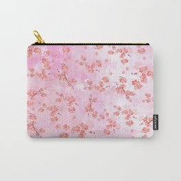 Cherry Flower II (spring floral pattern) Carry-All Pouch