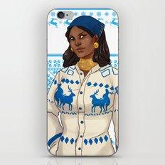 Very Merry Isabela iPhone & iPod Skin